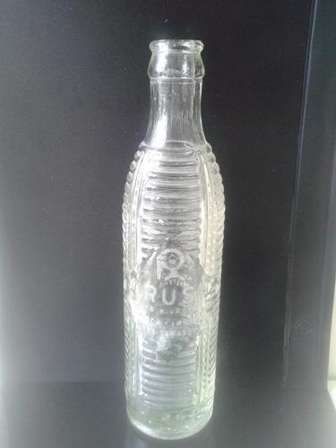 antigua botella de gaseosa crush