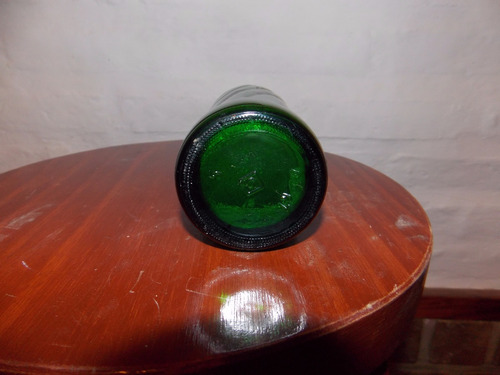 antigua botella de gaseosa  mirinda verde figu008