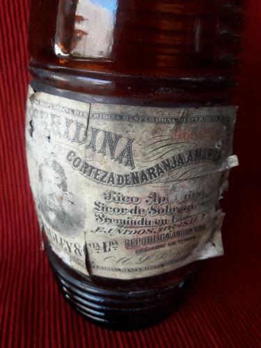 antigua botella de hesperidina