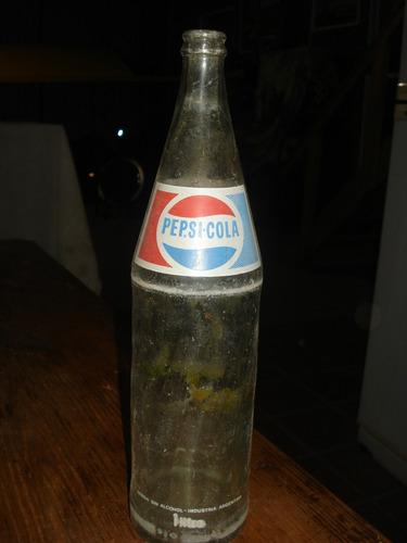 antigua botella de pepsi
