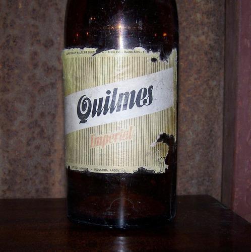 antigua botella de quilmes imperial