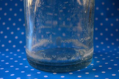 antigua - botella - pepsi - 1litro - ind. uruguaya