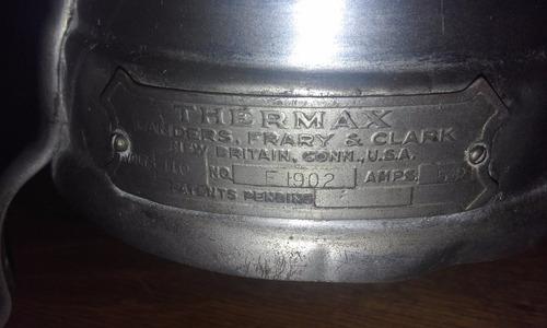 antigua cafetera express  thermax usa
