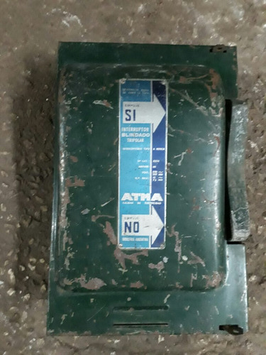 antigua caja de luz trifasica atma