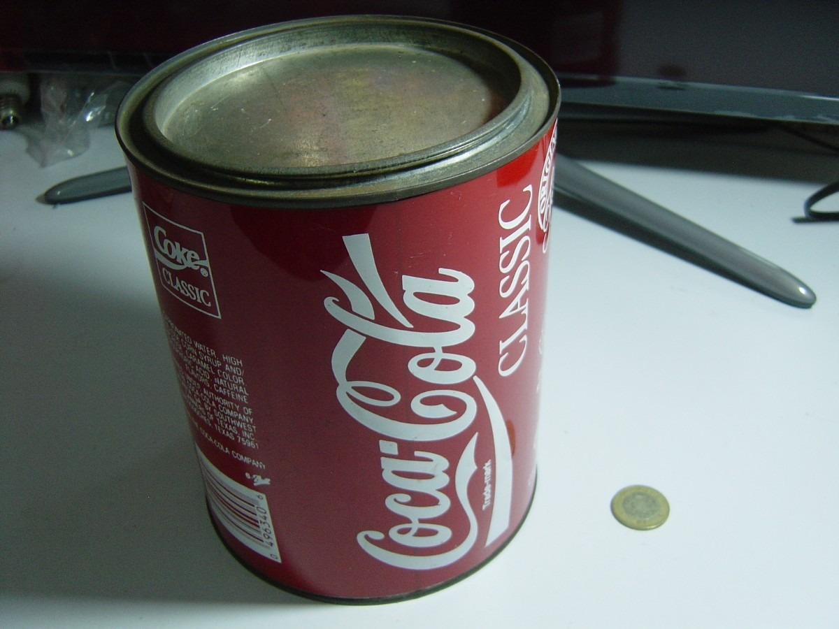 Antigua caja empaque para regalo de coca cola 1986 395 - Regalos coca cola ...