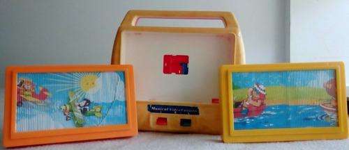 antigua caja musical de casette