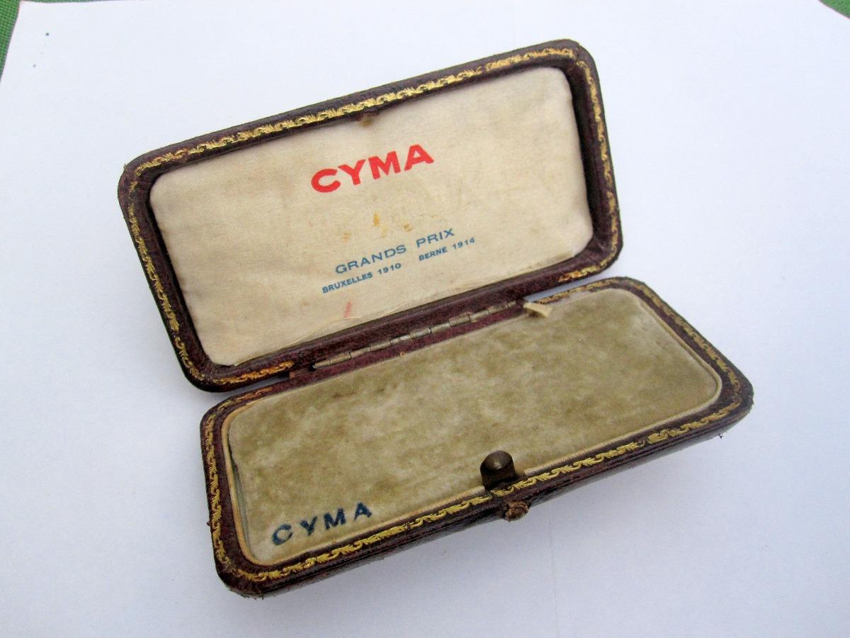 8d9227e3134a Antigua Caja Original Reloj Cyma Suiza -   8.000 en Mercado Libre