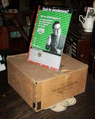 antigua caja parlante the rola company usa (4172)