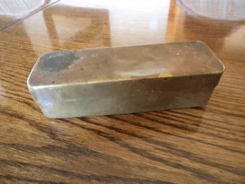 antigua caja quirurgica