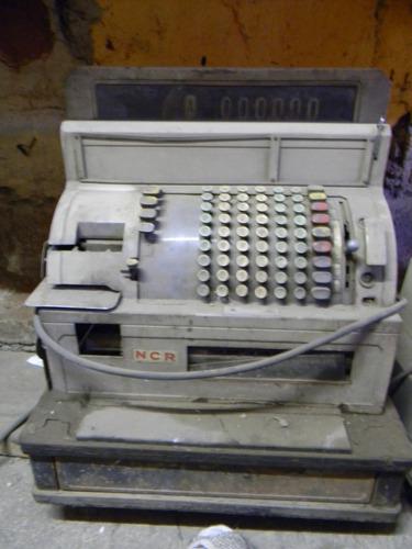 antigua caja registradora marca ncr
