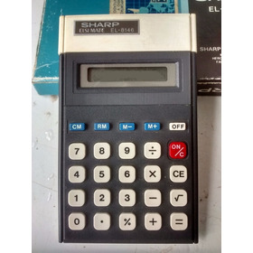 Antigua Calculadora Sharp Funcionando Coleccionistas!
