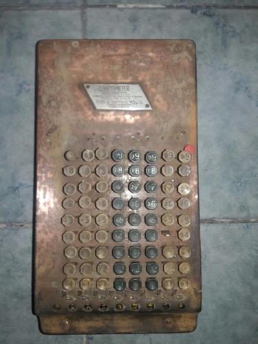 antigua calculdora compumeter