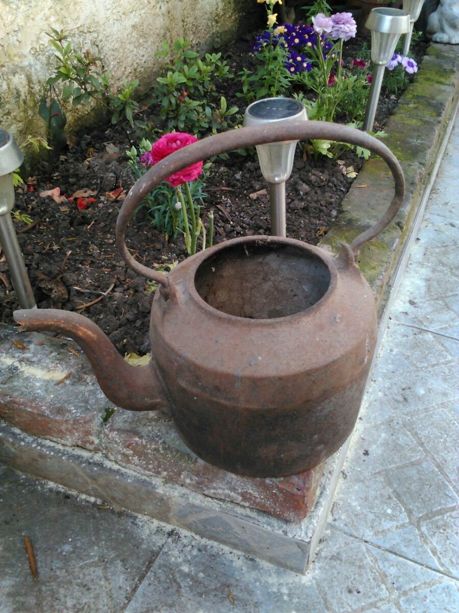 Antigua caldera de hierro fundido 700 00 en mercado libre for Hierro fundido