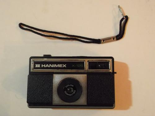 antigua cámara fotográfica - hanimex x-126