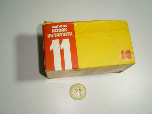 antigua cámara fotográfica kodak instamatic 11