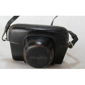 Antigua Camara Minolta Rokkor A5 Japon 1:2.8 F 40mm #l