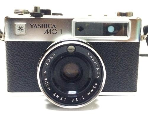 antigua camara yashica mg 1 vintage vieja