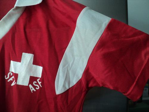 antigua camiseta sfv/asf - schweizerischer fussballverband