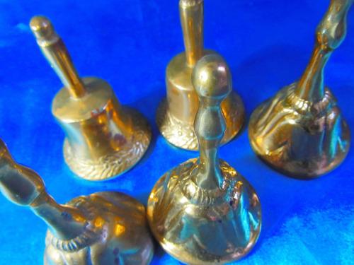 antigua campana bronce