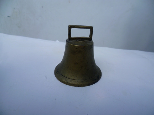 antigua campana siglo xix original.