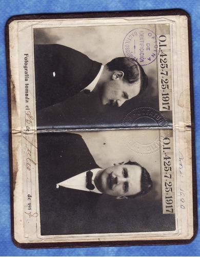 antigua cedula - 1917 - paysandu