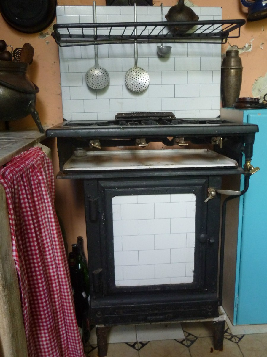 Cocinas antiguas de lea fabulous top la tapera estilo for Cocinas economicas a gas