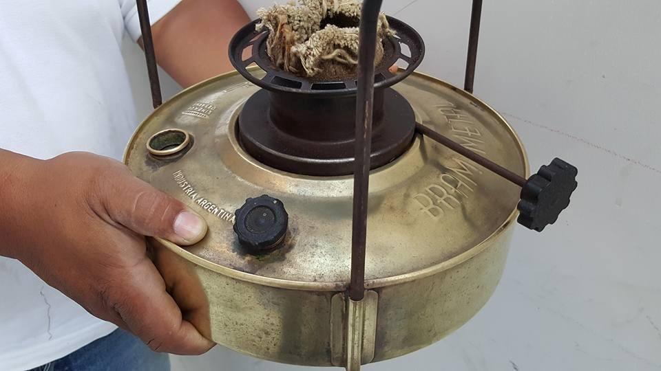 Antigua Cocina De Bronce De Mecha - S/ 50,00 en Mercado Libre