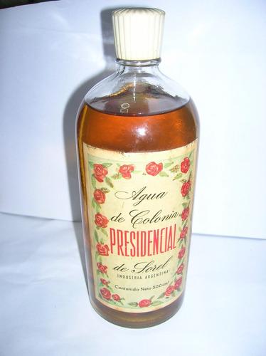antigua colonia presidencial de sorel x 500 ml sin uso
