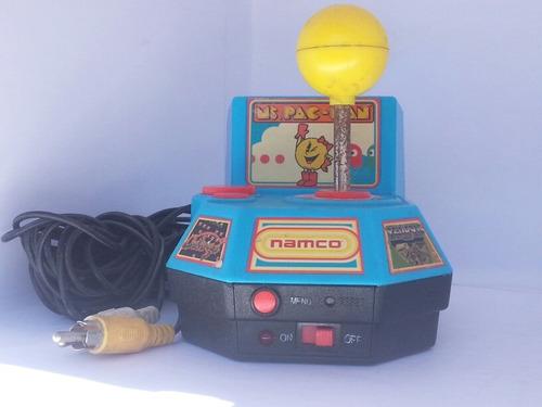 antigua consola juegos de los 80's jakks pacific pac-man