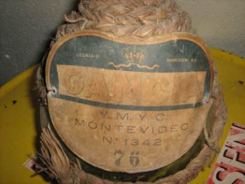 antigua damajuana de gancia