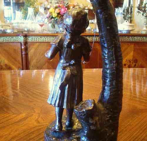 antigua escultura  escultor italiano  siglo xvlll