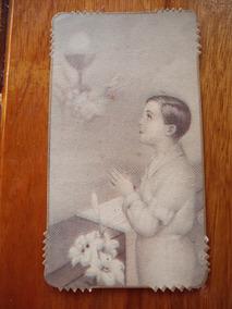 90a99275ad Estampita Religiosa Recuerdo Primera Comunion 1951 Antigua en Mercado Libre  Argentina