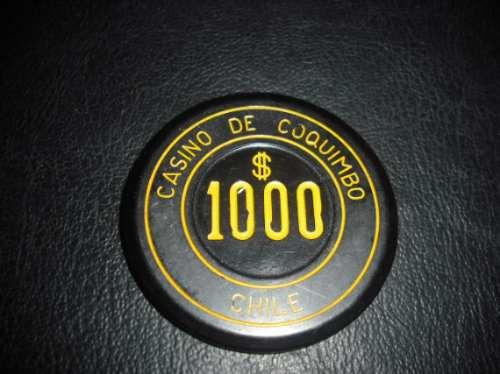antigua ficha casino coquimbo  1000 (587z