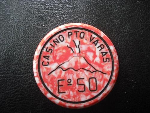 antigua ficha casino puerto varas 50 escudos