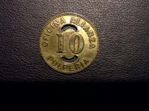 antigua ficha salitrera, 10, oficina alianza