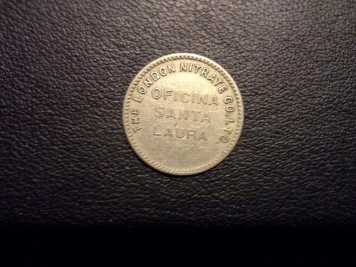 antigua ficha salitrera, 10, the london nitrate co.