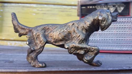 antigua figura bronce