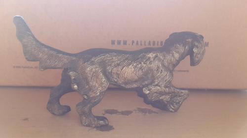 antigua figura en bronce