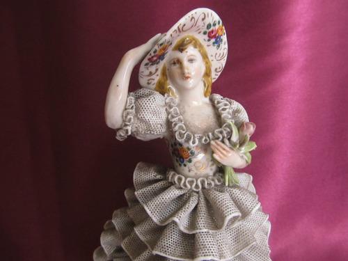 antigua figura porcelana antigua