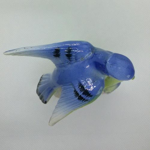 antigua figura porcelana aves pajaros japon