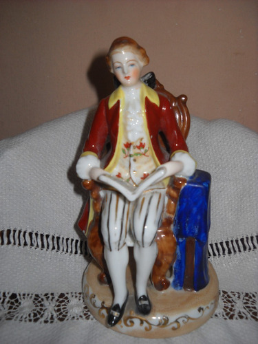 antigua figura, porcelana, japon ocupado