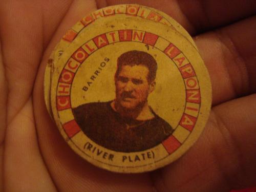 antigua figurita barrios river album chocolatin laponia 1942