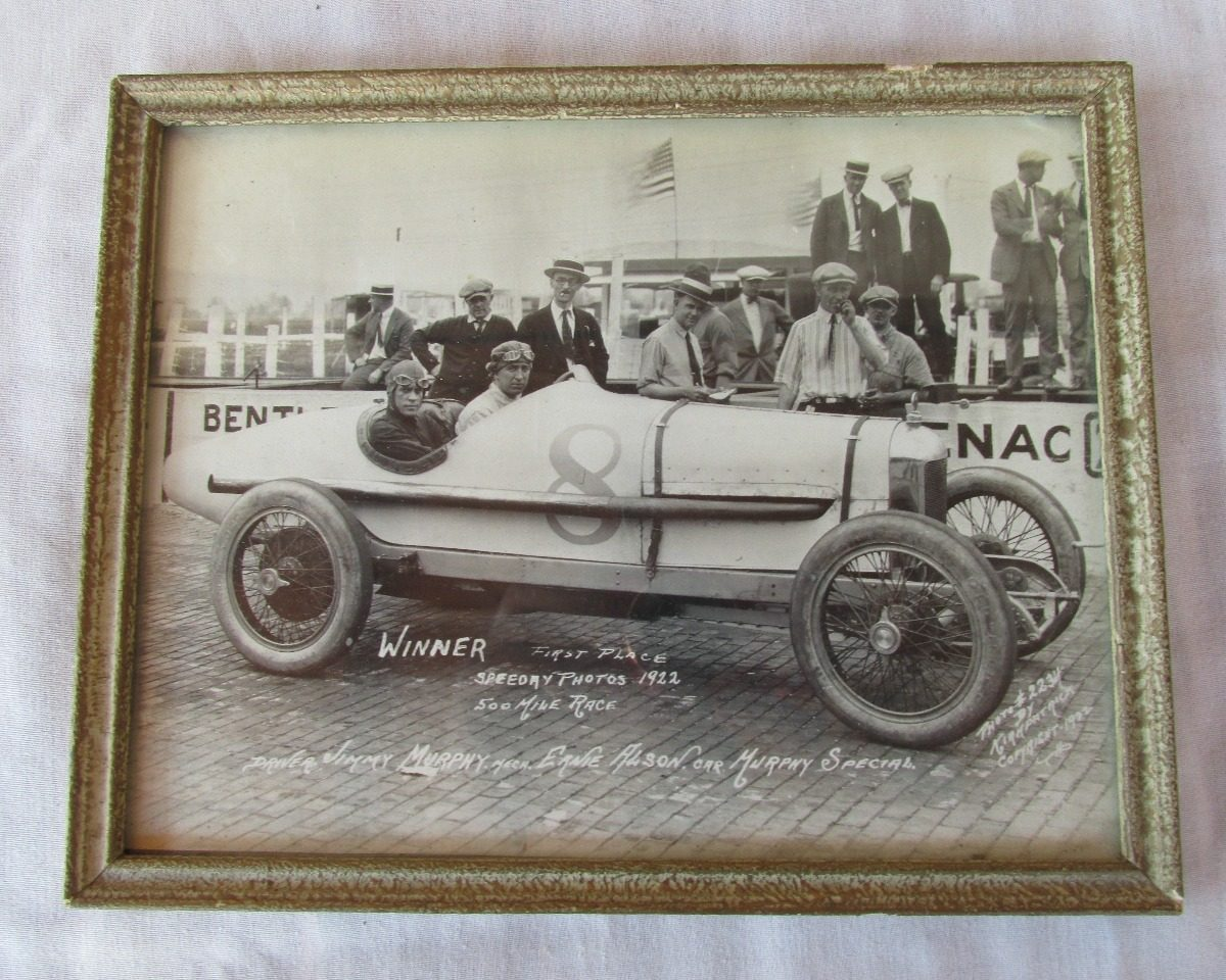 Antigua Foto Cn Marco Jimmy Murphy Indianapolis 1922,arv #l - $ 500 ...