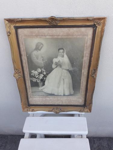 antigua foto con marco de estilo