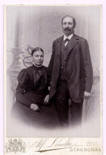 antigua foto de alf lindhe sueco (1899-1911) de estudio ex
