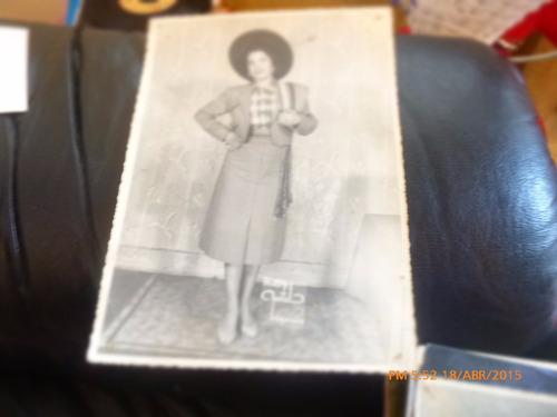 antigua foto de huasa  foto martel valparaiso