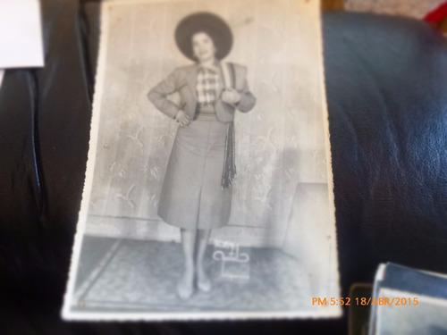antigua foto de huasa  foto martel valparaiso (a8