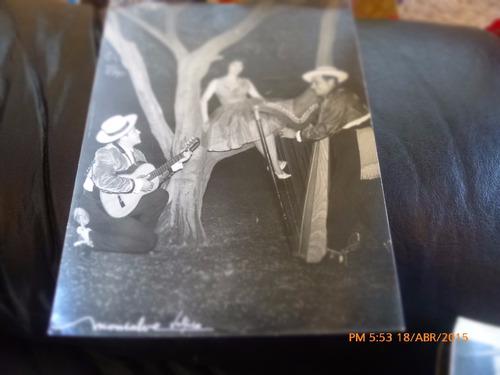 antigua foto de trio folklorico  foto monsalve