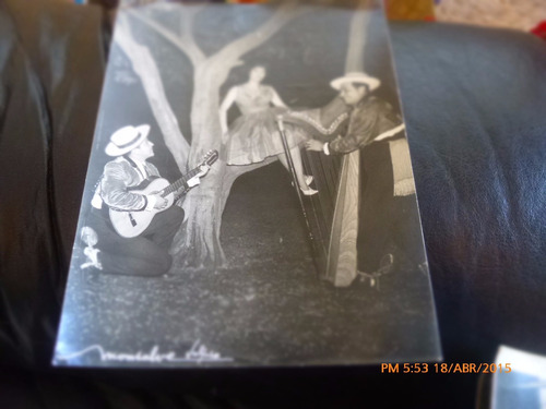 antigua foto de trio folklorico  foto monsalve (a12