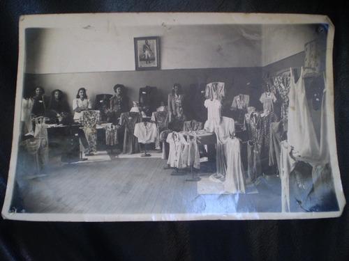 antigua foto escuela nº  15 1945  viña del mar (34f1